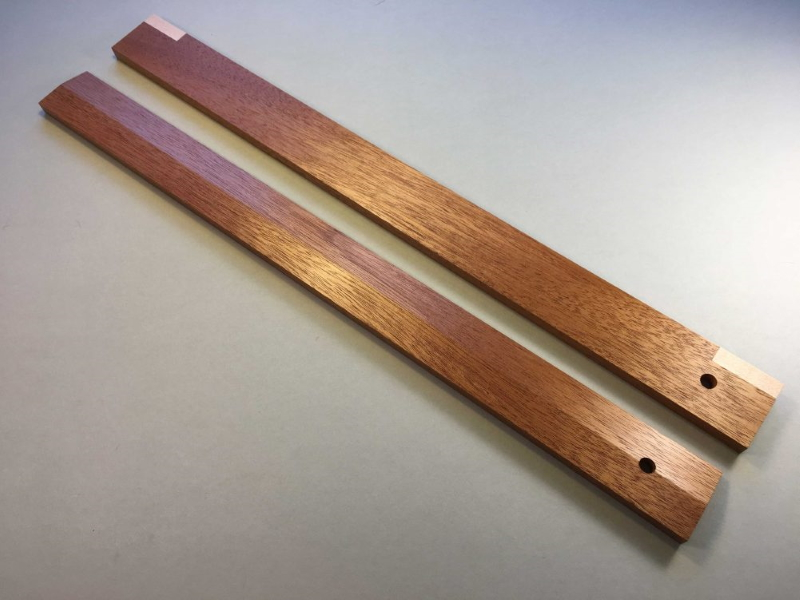 Winding Sticks Mahogany