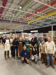 Classic Hand Tools team at Harrogate 2018