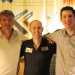 Chris Vesper with Mike & Alex