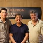 David Barron with Alex & Mike